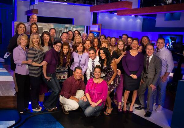 We are celebrating #SpiritDay by wearing purple to support LGBT youth and stand up against bullying. #PrideNBCU http://twitter.com/nbc6/status/390881214602964992/photo/1