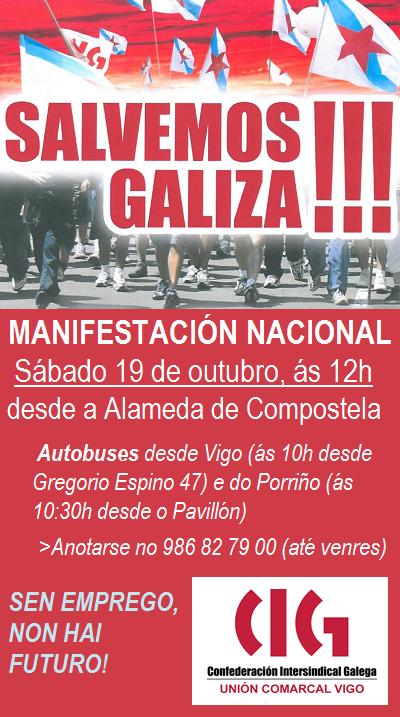Twitter / CIGVigo: Manifestación nacional polo ...