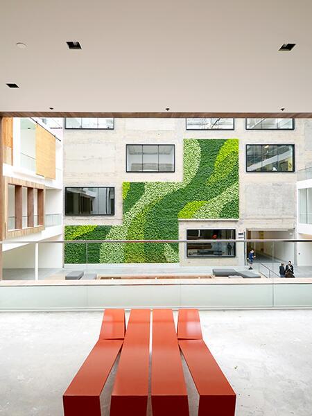Gsky Living Green Walls: 888 Brannan (@888BrannanSt)