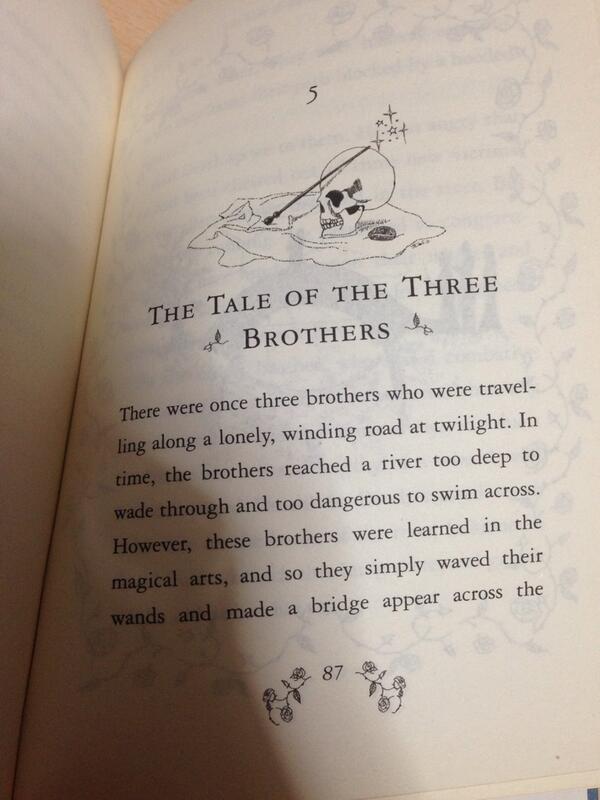 ニワトコの杖と蘇りの石と透明マントのやつな http://t.co/3JhKOjcFfB