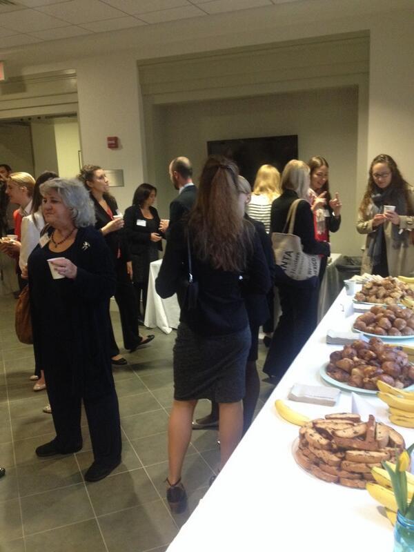 Networking breakfast @KogodWomeninBiz @KogodBiz fueled by @ThunderPigDC http://t.co/V242bkiLhH