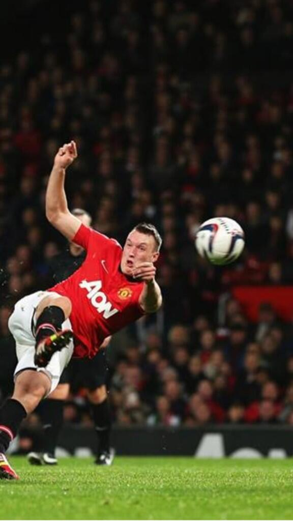 Phil Jones pulled The Face as he scored v Norwich!