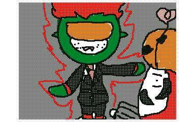 【電波人間のハロウィン:4-2】 チーム トーキョー@神様はイベルタル さんのイラスト