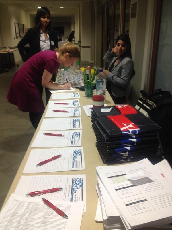 Setting up for an great day at the Women in Business Conference at American University! @KogodBiz @KogodWomeninBiz http://t.co/E1epaPeIgg