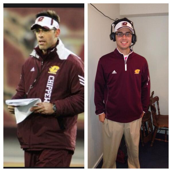 piku on twitter darrenrovell halloween costume central michigan football coach dan enos httptcob1gbivhqvj via crankit11 mikeakers23