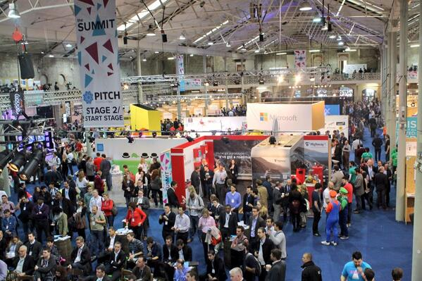 Forget Where's Wally, spot Mario and Luigi at the #WebSummit to be in with a chance to win.. http://t.co/33i6TKMg72 http://t.co/B18JZh9O2J