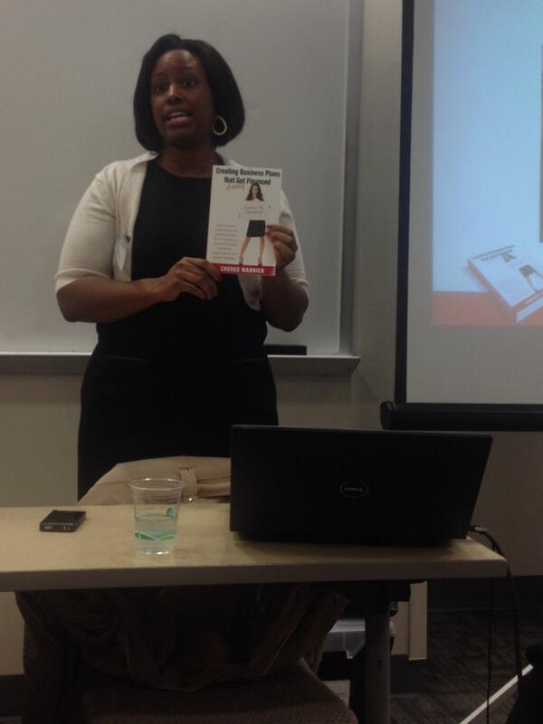 Financing business plans with Cheree Warwick @KogodWomeninBiz @KogodBiz #americanuniversity #powerfulwomen http://t.co/BxgkPnLlGw