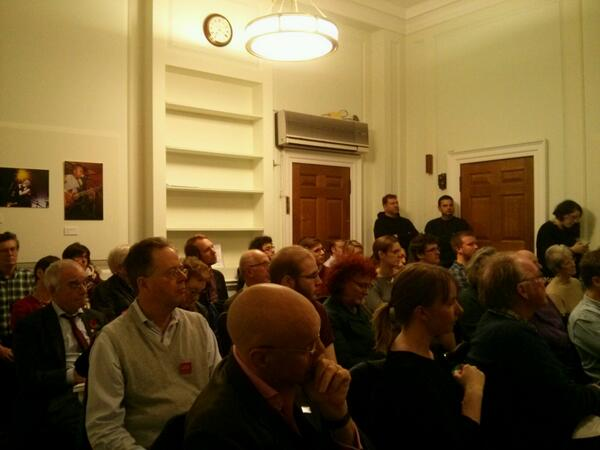 Standing room only at our #faithschools event http://t.co/Y3hUh2SFJk