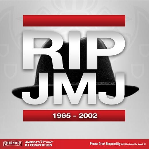RIP #JamMasterJay (January 21, 1965 – October 30, 2002). #RT to honor the life of the #DJ for @OfficialRunDMC. http://t.co/qKq9AHt28e