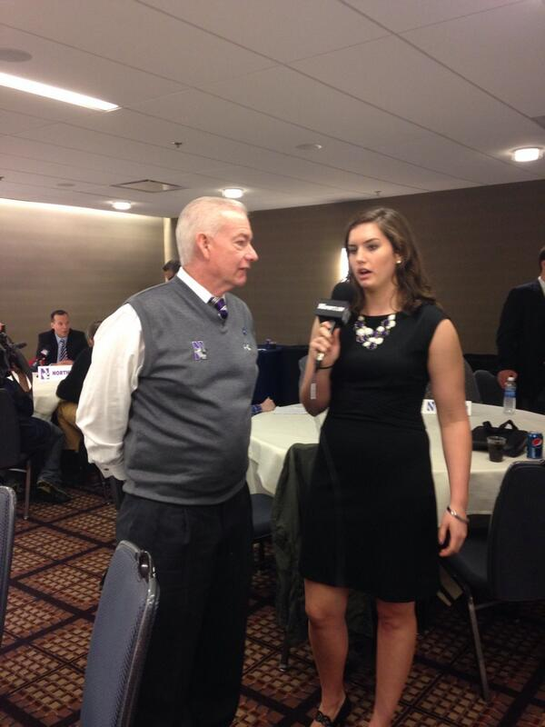 "Hard hitting questions right off the bat as @mmckeown14 asks Coach McKeown ""Who is your fav child?"" #B1GMediaDay http://t.co/mVqp3inL73"