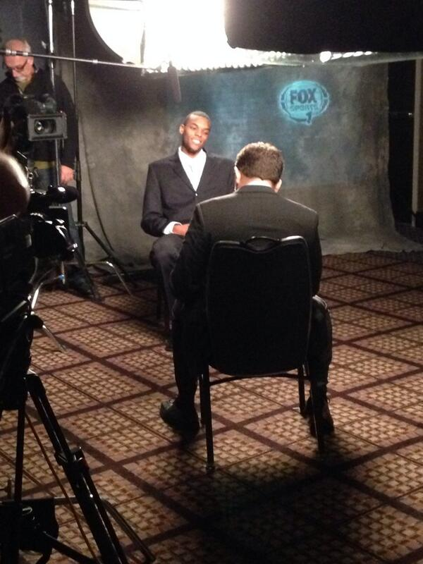 So proud of you little one RT @GopherBBall: .@AndreHollins sitting down now with @FOXSports1 at #B1GMediaDay http://t.co/PSV8H9Gd2o