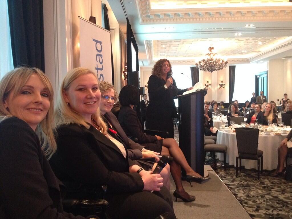 Twitter / pamelamaeross: The panel at @RandstadCanada ...