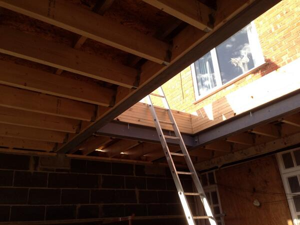 Mike Burnett Joinery On Twitter Subcontractor Job Flat Roof Construction To Be Fitted With Lantern Http T Co Tljuohdkhv