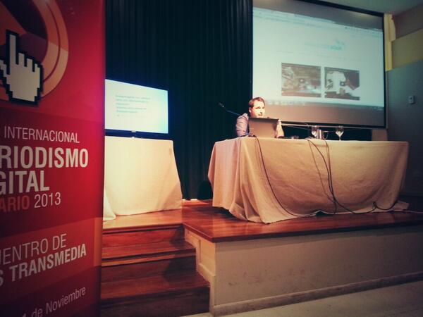 Thumbnail for Abrazos de agua en el Foro de #webperiodismo Rosario