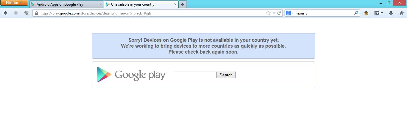 Twitter / Kahush: So sad Google Play devices ...