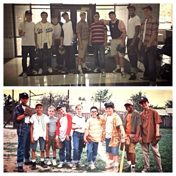 Coach Satunas on Twitter  The Sandlot for Halloween. AWESOME! RT @BaseballBros Halloween costumes of the year goes to the DMACC baseball team! ... & Coach Satunas on Twitter: