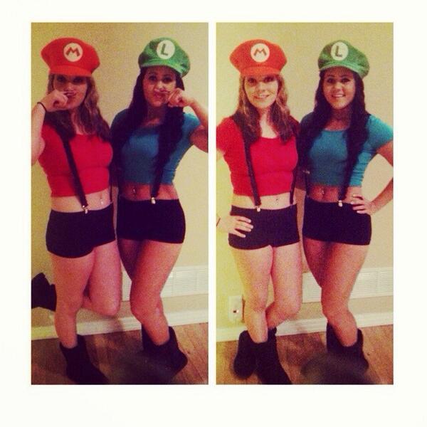 maggie moser on twitter that mario and luigi swag halloween bestfriend costume party httptcobczowsctjk