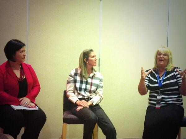 Our #WomenInTechnology panel. #VTN2013 #womenintech http://twitter.com/VTNCommunity/status/392097579460489217/photo/1