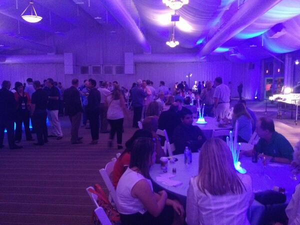 Our #Cisco sponsored welcome reception is in full swing! #VTN2013 http://twitter.com/VTNCommunity/status/392120640917868544/photo/1