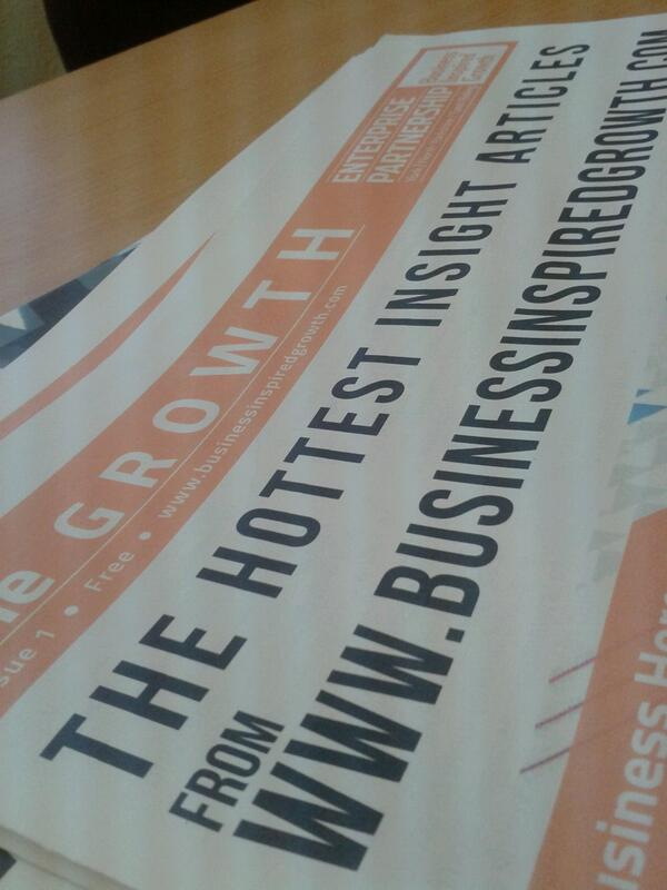 The papers are in as part of the launch of our new website at #TIDE2013. Excited ye? http://t.co/vwNtM80CvW