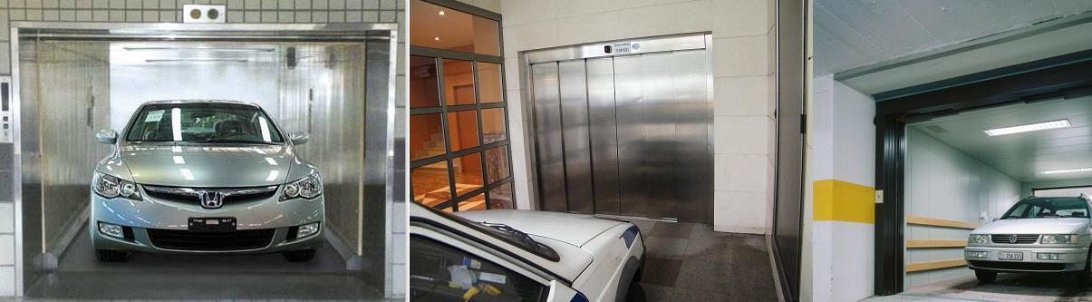 elevador Automóveis