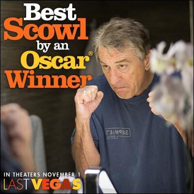 Best Scowl in #LastVegas goes to Robert De Niro! http://t.co/0E6w3QY39J