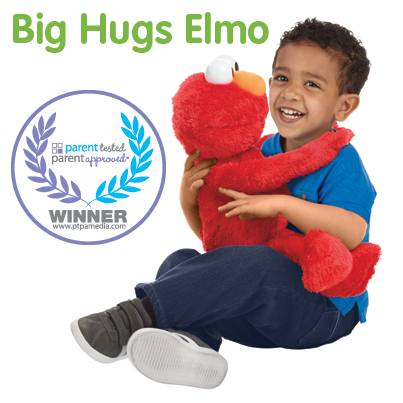 Our #BigHugsElmo toy is a @PTPA (Parent Tested Parent Approved) award winner! View reviews at http://t.co/J2xOByTdY5 http://t.co/x7rlaC0wh3