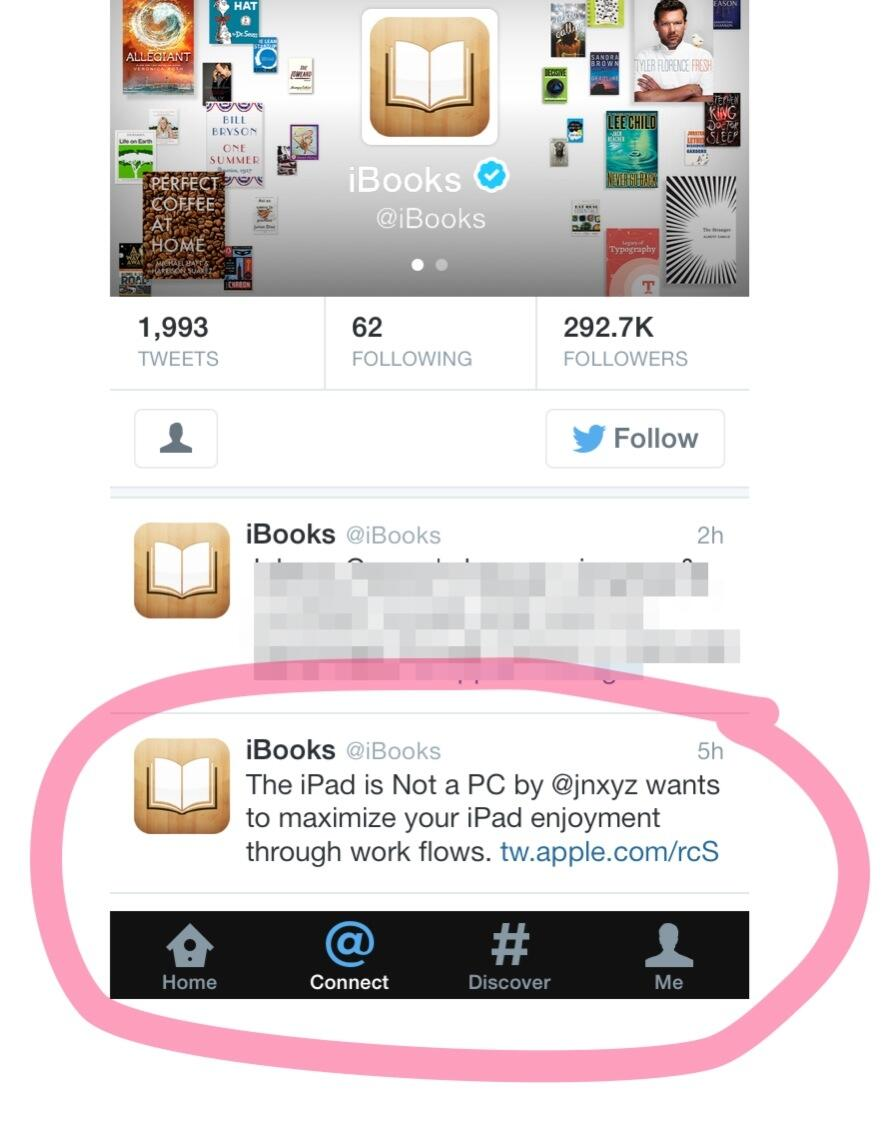 Twitter / jnxyz: Look Ma - iBooks featured my ...