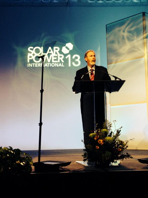 Howard Learner kicking off #Spicon http://twitter.com/EcoOutfitters/status/392414617063788544/photo/1