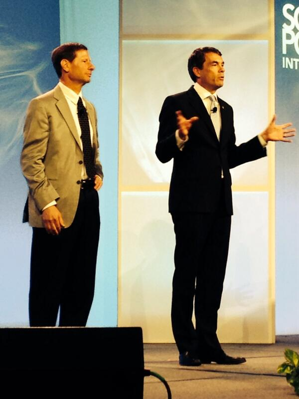 @arnoharris takes the stage #Spicon http://twitter.com/EcoOutfitters/status/392417891640819714/photo/1