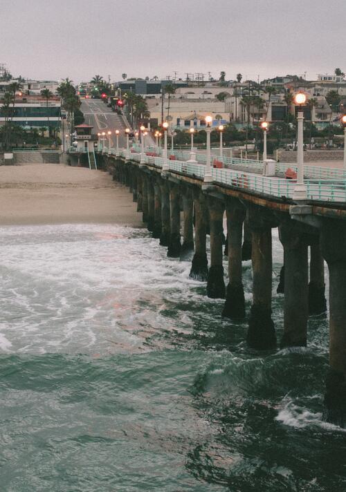 Manhattan Beach Pier http://t.co/iU0NsEHJ7E