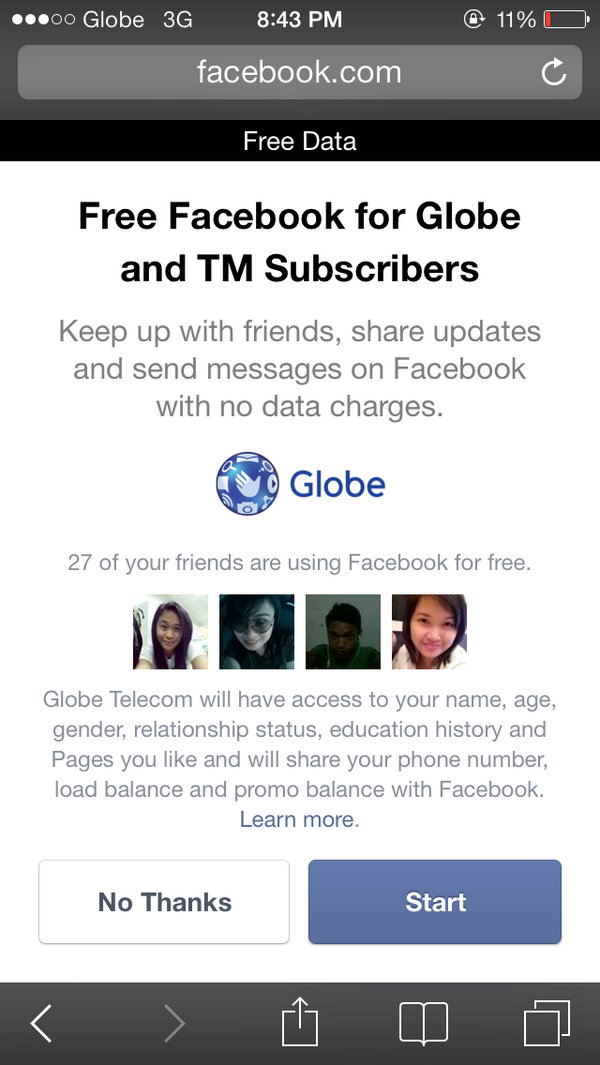 GLOBEFacebook hashtag on Twitter