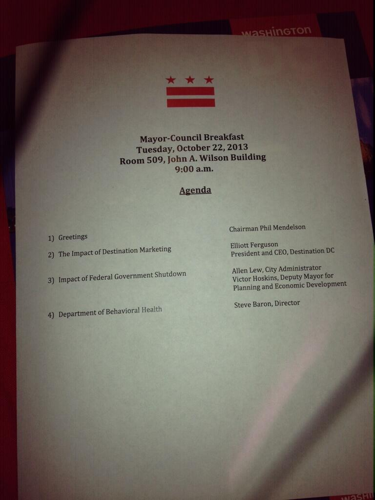 Twitter / SegravesNBC4: Monthly DC Mayor/Council ...