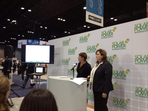 Only 10% of men make a solar purchasing decision! Hint: Market to women #spicon #Women4Solar http://twitter.com/EcoOutfitters/status/392746717595987969/photo/1