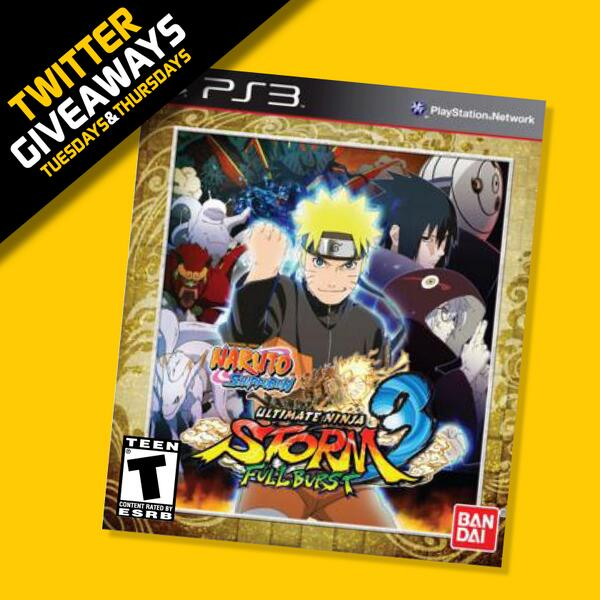 GIVEAWAY: Kage Bunshin no Jutsu! First up is the PS3 copy— Just RT + Follow for a shot to win! (US Only!) http://t.co/COlL92f2Xi