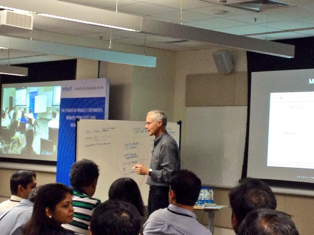 The Power of Product Experiments - insights from Scott Cook, Intuit Founder
