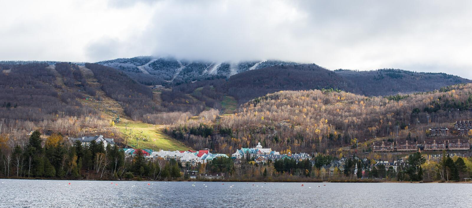 Twitter / MontTremblant: First trace of snow in Tremblant. ...