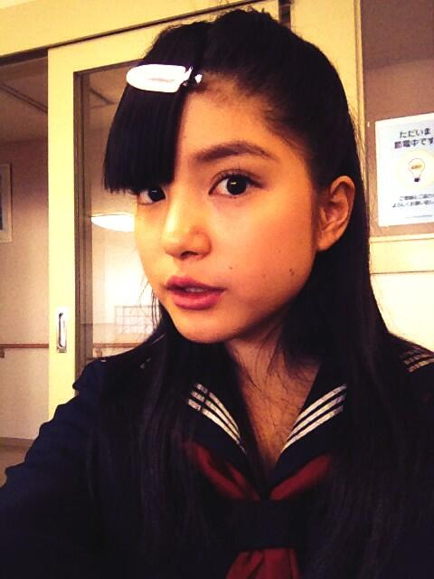 SPEC★ 前髪キープ大変でした。。笑 #umika http://t.co/69jBwFW0Oi