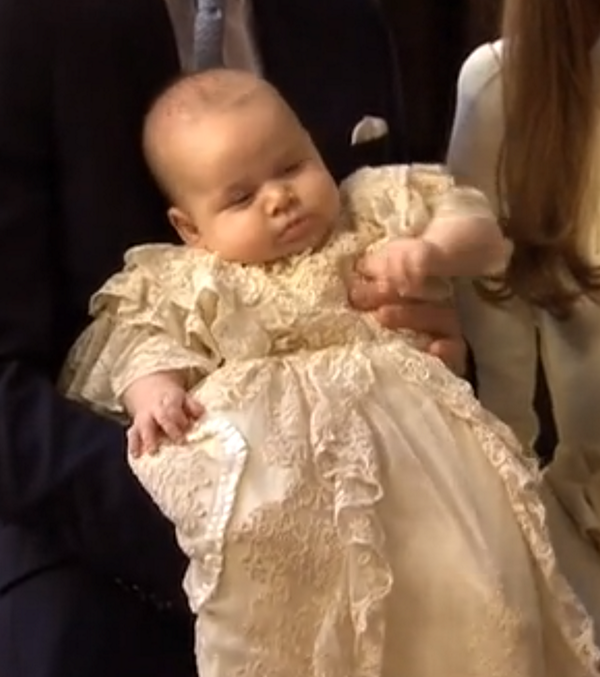 Royal Baby George Christening