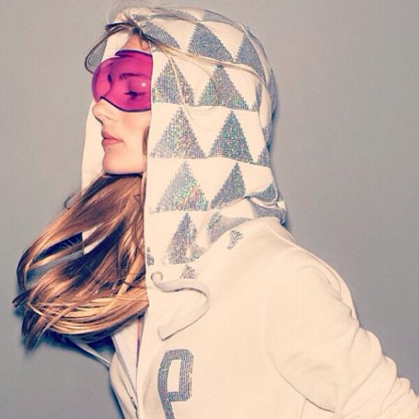Ieva Laguna  - Ready for th twitter @laguna_ieva pinknation,vspink,winter
