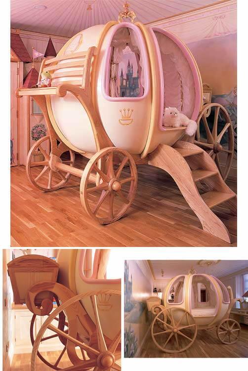 カボチャの馬車ベッド