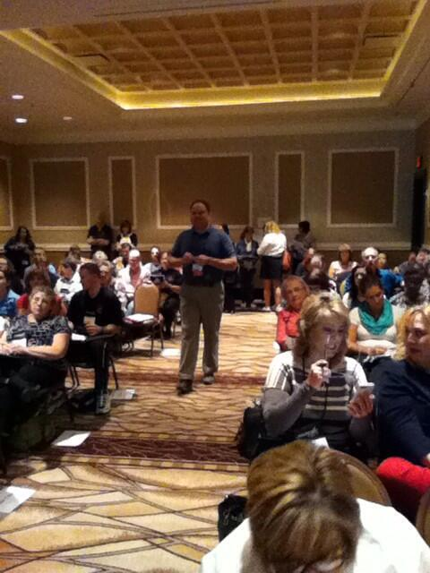 What do you get when you have 120 math educators digging into tasks? Incredible things! #NCTMVegas http://t.co/8jRvpe36pX