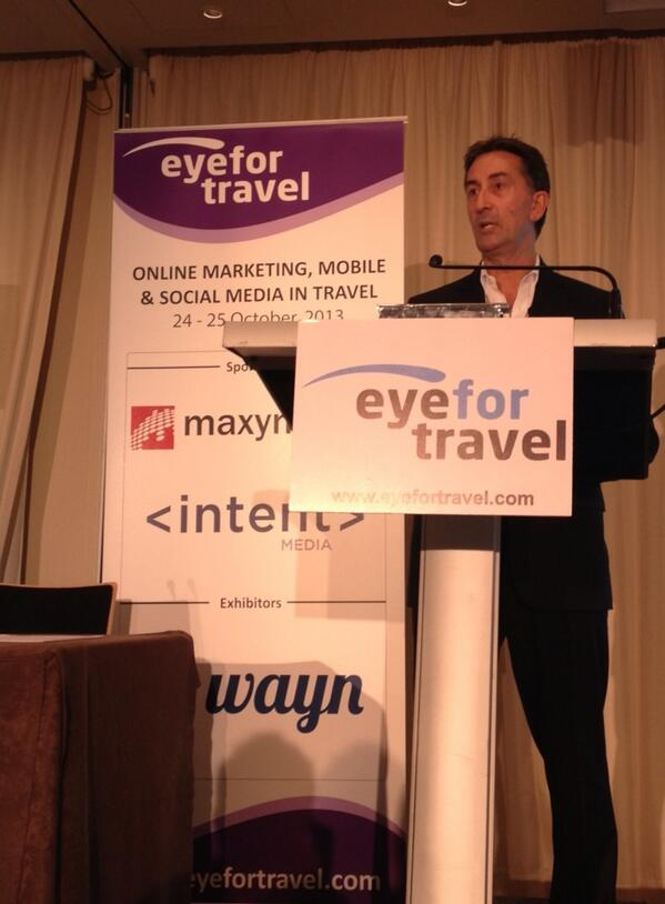 Listening to Richard Lewis (Best Western Hotels)   Talk about Cross-Platform Travel Behaviour #smeurope http://t.co/zVJOjqV9sf