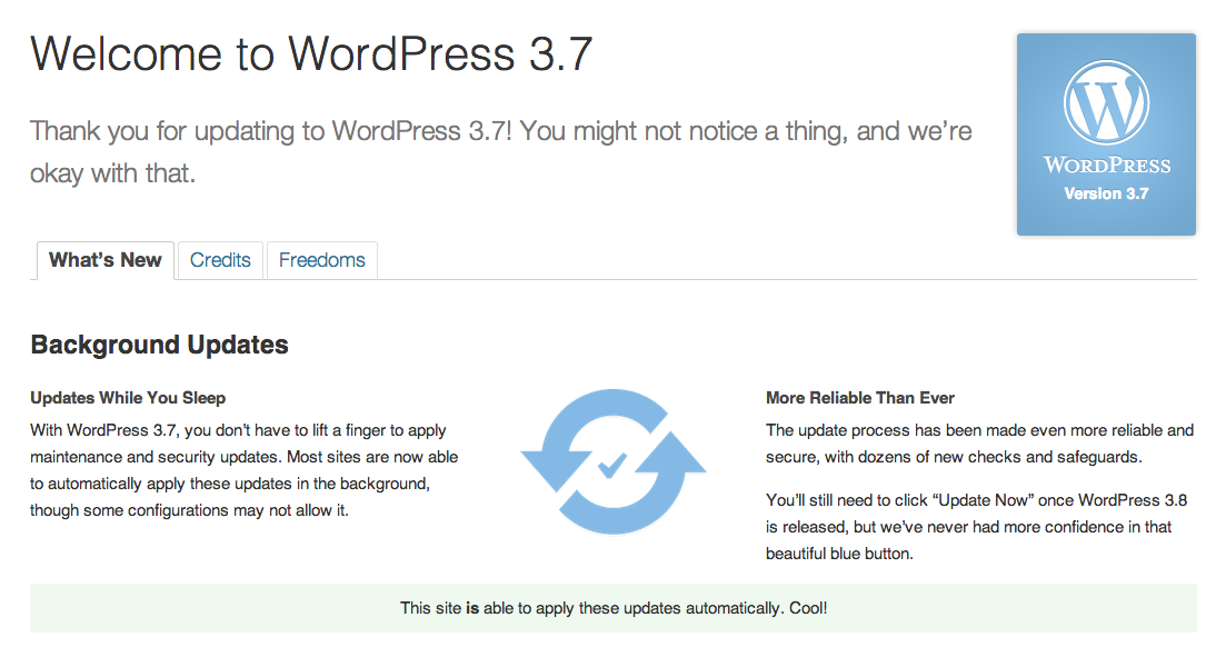 Twitter / hbaumann: & #WordPress #wp... I want ...