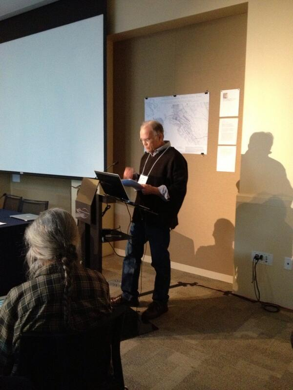 Denis Wood at Mapping and Its Discontents symposium #GloUH http://t.co/0p0N51lLC9