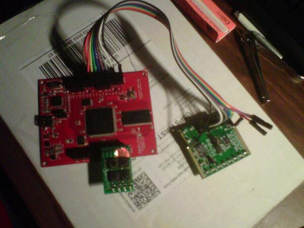 @Doxial @RevitFur Ready to thrash this DAC demo board with an FPGA... http://t.co/a8tWfxrPPD