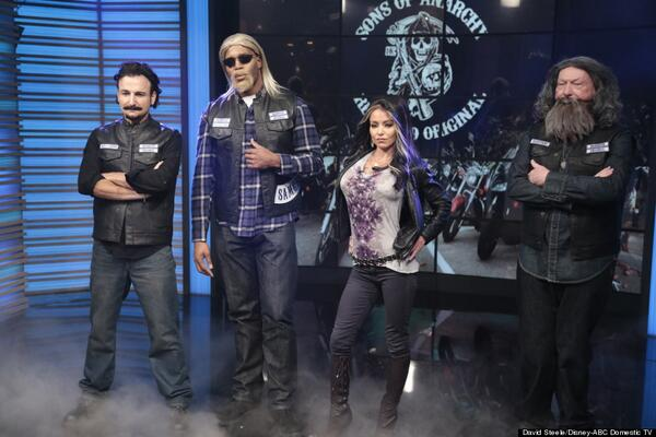 ... halloween costumes; sons of anarchy on twitter all the live with kelly and michael ...  sc 1 st  The Halloween - aaasne & Sons Of Anarchy Halloween Costumes - The Halloween