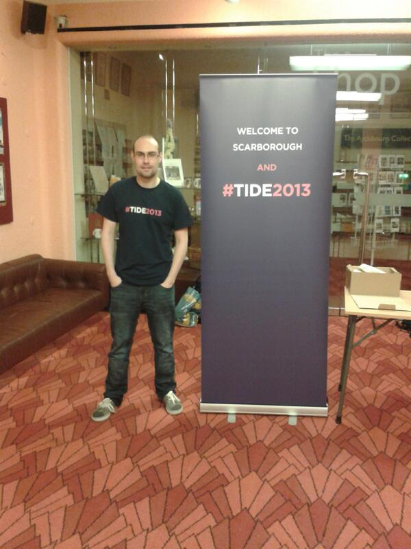 Ready to go! #TIDE2013 http://t.co/vTUJ6qeNab