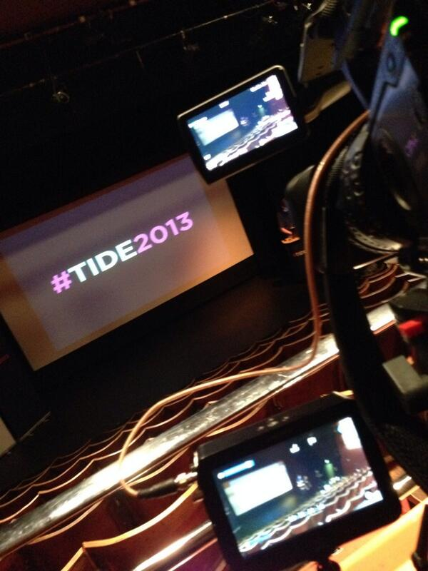 #TIDE2013 http://t.co/hLs0QFG0mg