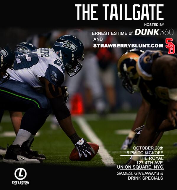 http://t.co/ed5xltNYeY hosts Monday Night Football & TheTailgate w/ @ErnestEstime & @SoDrewski CC: @WE_R_LEGION http://t.co/Pz45ugpIGM